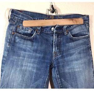 7 seven for all mankind bootcut jeans sz 27